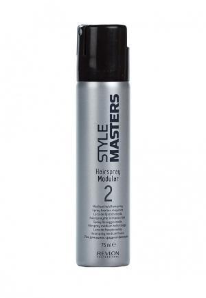 Лак для волос Revlon Professional. Цвет: серебряный