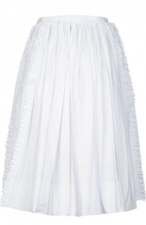 Юбка Rochas. Цвет: белый