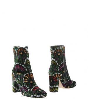 Полусапоги и высокие ботинки BRIAN ATWOOD. Цвет: зеленый