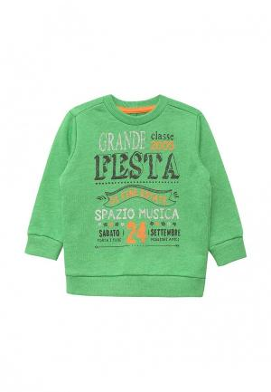 Свитшот United Colors of Benetton. Цвет: зеленый