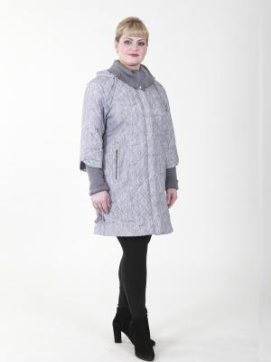 Пальто Мануэла VIKO. Цвет: серо-коричневый