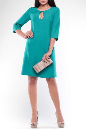 Платье REBECCA TATTI. Цвет: темно-ментоловый