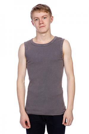 Майка  Faded Tanktop Dark Grey Urban Classics. Цвет: серый