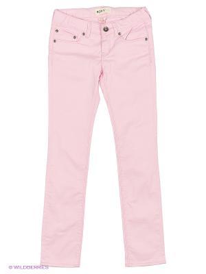 Джинсы DESERTJEAN G PANT ROXY. Цвет: розовый
