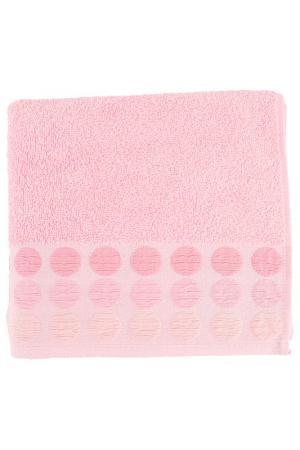 Полотенце махровое, 50х90 см BRIELLE. Цвет: розовый