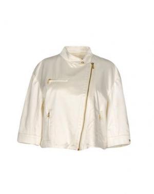 Куртка ANGELO MARANI. Цвет: слоновая кость