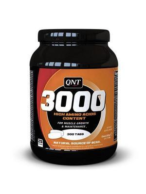 Аминокислоты QNT Amino Acid 3000 (300 таб.). Цвет: черный,оранжевый