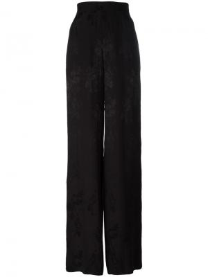 Расклешенные брюки Etro. Цвет: чёрный