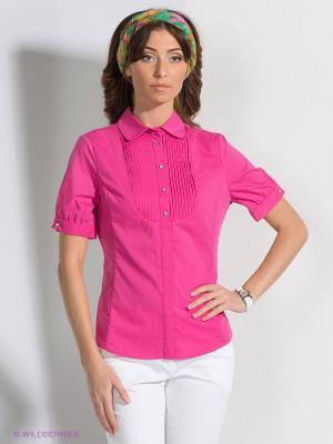Блузка QUIOSQUE. Цвет: розовый