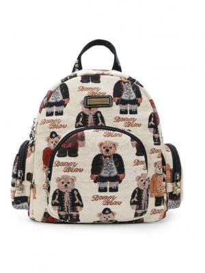 Рюкзак женский Danny Bear. Цвет: бежевый