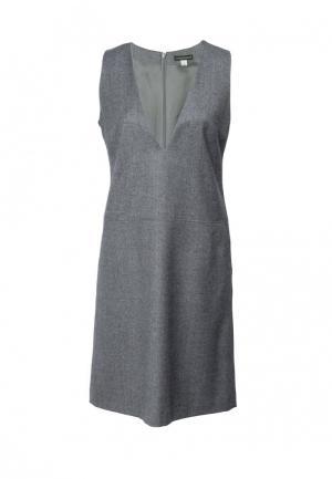 Платье Colletto Bianco. Цвет: серый