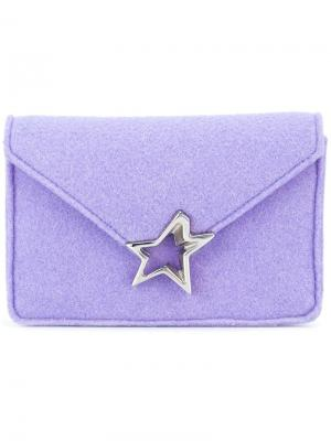 Клатч Tiffani Corto Moltedo. Цвет: розовый и фиолетовый