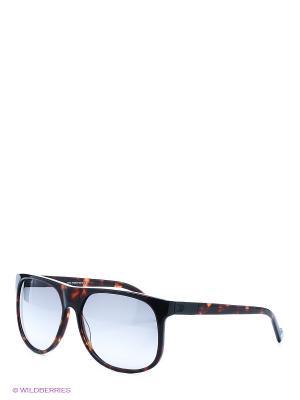 Солнцезащитные очки IS 11-19307P Enni Marco. Цвет: темно-коричневый