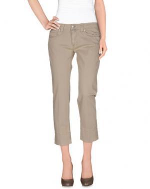 Повседневные брюки NOTIFY. Цвет: бежевый
