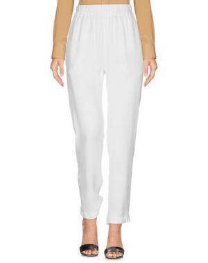 Повседневные брюки BELSTAFF. Цвет: белый