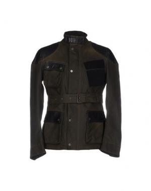 Куртка BULK. Цвет: зеленый