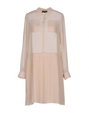 Короткое платье LE MONT ST MICHEL. Цвет: бежевый