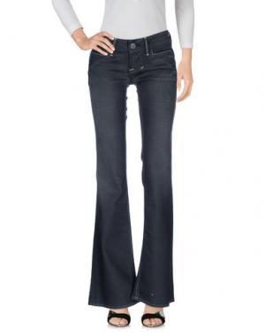 Джинсовые брюки WILLIAM RAST. Цвет: свинцово-серый