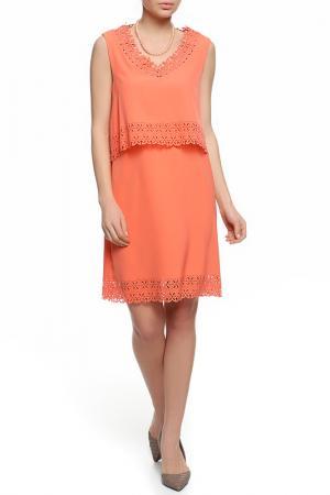 Платье XS MILANO. Цвет: красный
