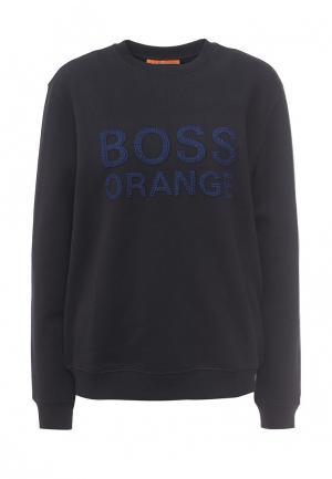 Свитшот Boss Orange. Цвет: синий