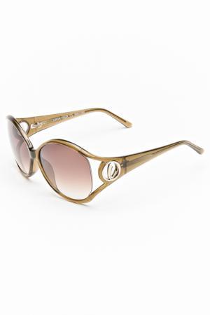 Очки солнцезащитные Lucia Valdi. Цвет: оливковый