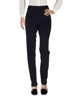Повседневные брюки PAULIE. Цвет: темно-синий