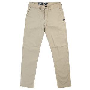 Штаны прямые детские DC Worker Straight Khaki Shoes. Цвет: бежевый