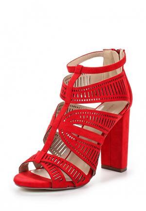 Ботильоны Ideal Shoes. Цвет: красный