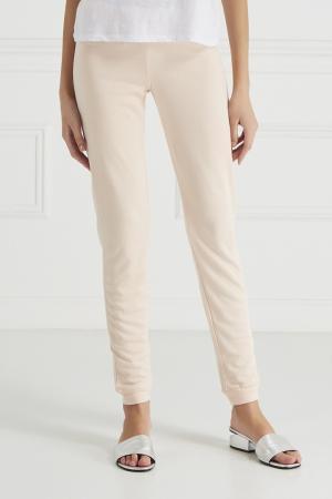 Однотонные брюки Princesse Tam-Tam. Цвет: розовый