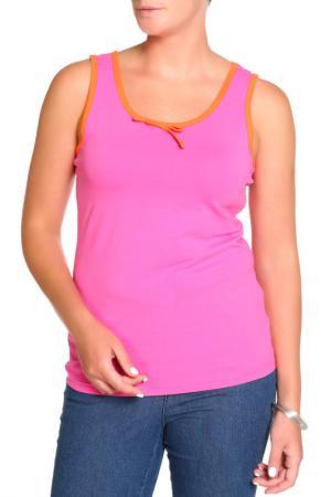Майка LAVELLE. Цвет: ярко-розовый