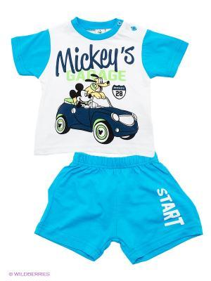 Комплект Disney. Цвет: голубой, белый