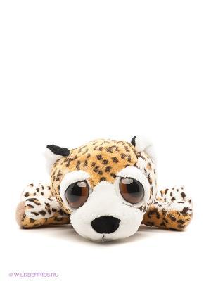 Мягкая игрушка, леопард Пиперс RUSS. Цвет: черный, бежевый