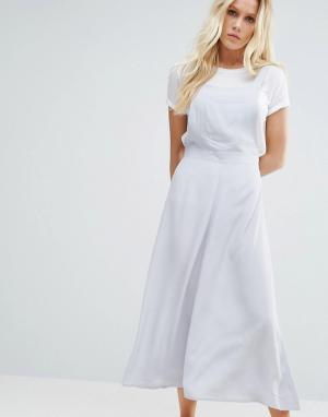 Little White Lies Платье-сарафан Scarlet. Цвет: серый