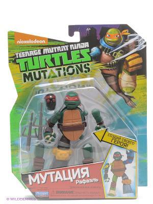 Фигурка Черепашки-ниндзя 12см серия Mutation Рафаэль Playmates toys. Цвет: зеленый, красный