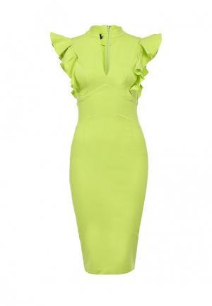 Платье Hybrid. Цвет: желтый