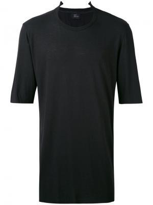 Базовая футболка Lost & Found Ria Dunn. Цвет: чёрный