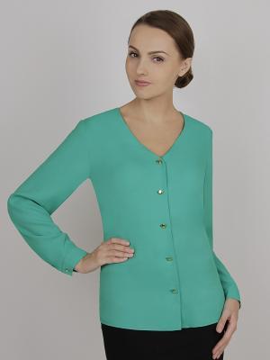 Блуза ELNY. Цвет: зеленый
