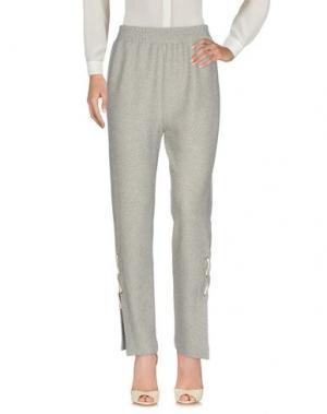 Повседневные брюки VIVYA. Цвет: светло-серый