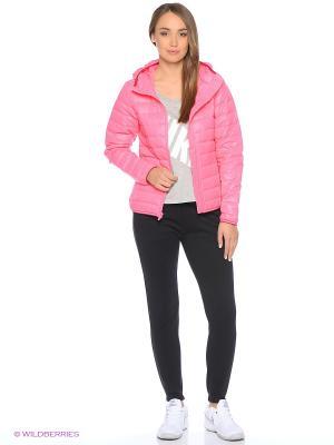 Куртка W NSW DWN FLL JKT HD Nike. Цвет: розовый