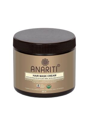 Маска- крем для волос ANARITI. Цвет: коричневый