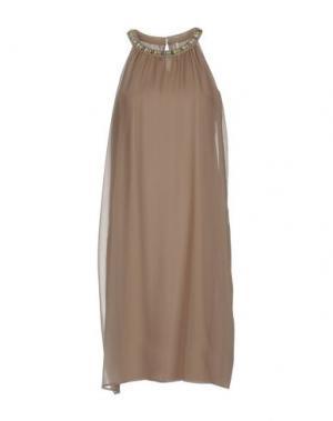 Платье до колена EMMA&GAIA. Цвет: хаки