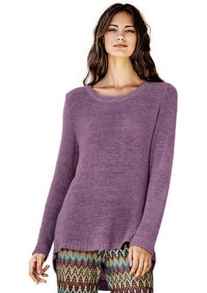 Пуловер Rick Cardona. Цвет: песочный, цвет баклажана