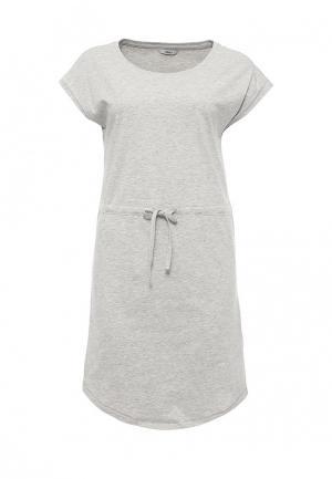 Платье Only. Цвет: серый