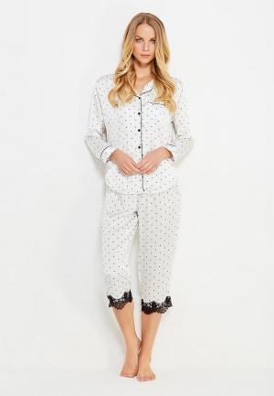 Пижама Dorothy Perkins. Цвет: белый