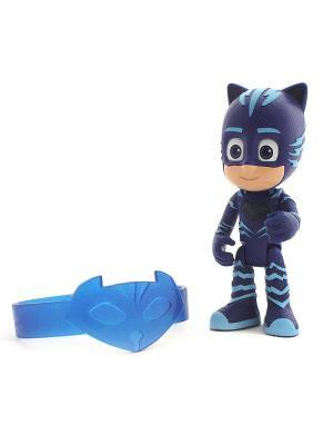 Игровой набор фигурка 8 см со светом, браслет Кэтбой. Герои в масках PJ Masks. Цвет: синий