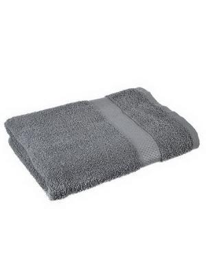 Полотенце махровое KONONO. Цвет: серый