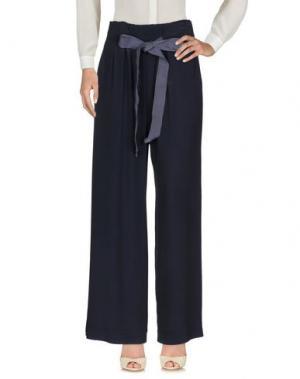 Повседневные брюки MARCHÉ_21. Цвет: темно-синий