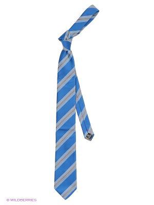 Галстук Alex DANDY. Цвет: белый, голубой, индиго, синий