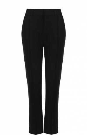 Укороченные расклешенные брюки с карманами Dorothee Schumacher. Цвет: черный