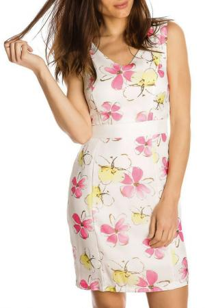Платье GAZOIL. Цвет: розовый
